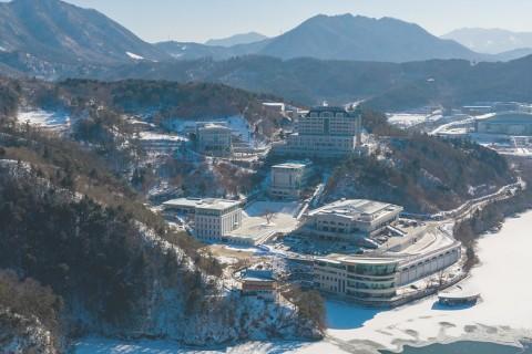 HJ천주천보수련원 겨울 풍경 사진 / 2021.01.28