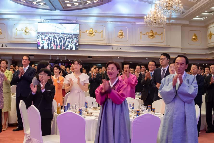 천지인참부모님 세계순회 승리기념 추석 특별행사